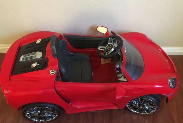 rollplay-6-volt-porsche-918-ride-on-toy-battery-powered-kids-ride-on-car-1